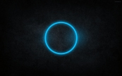 Abstract-Blue-Glowing-Circle