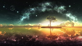 Abstract-Moon-Shine-Night
