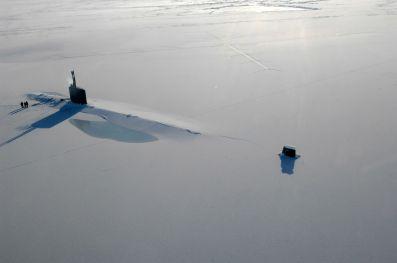 Submarine-in-Snow
