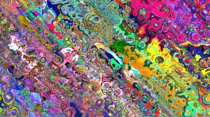 Trippy-Melting-Colors-Wallpaper