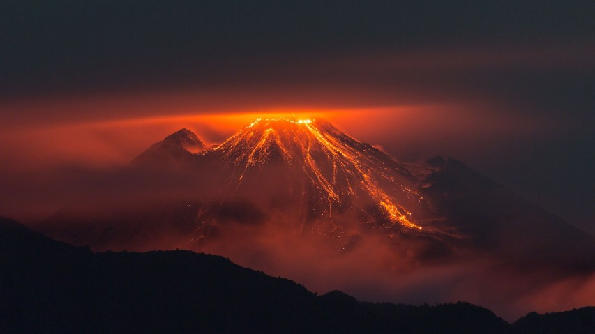 Image result for fire mountain