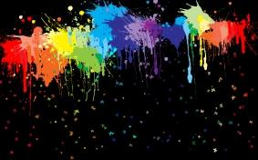 Cartoon-Splaters-Rainbow-Wallpaper