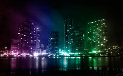 City_Lights_by_waqar