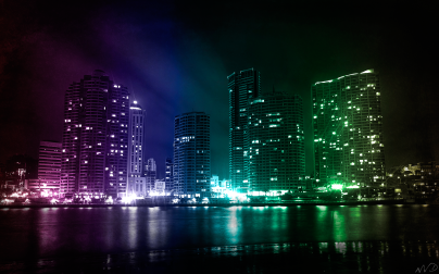 City_Lights_by_waqar