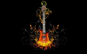 Guitar-Digital-Art-Wallpaper