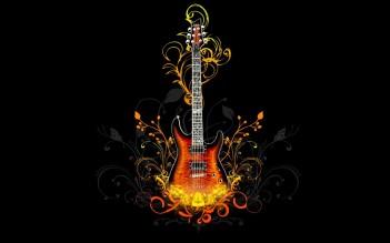 Guitar-Digital-Art-Wallpaper
