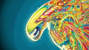 Psychedelic-Pattern-Alien