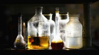 Vintage-Chemistry-Bottles-redddd