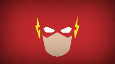 MInimalistic-Flash-Comic-Wallpaper