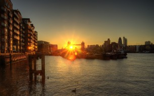 London-Sunset-Wallpaper