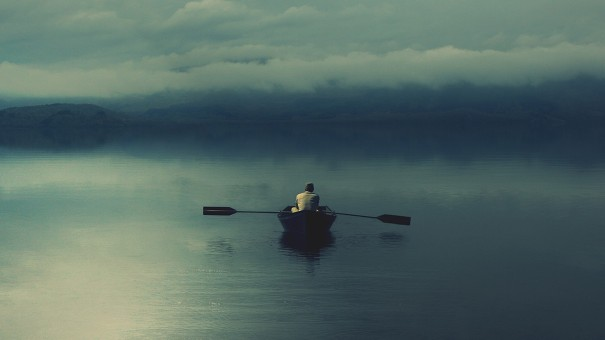 Boat-on-Lonely-Lake