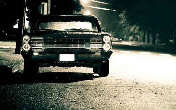 Old-American-Car-monochrome-wallpaper