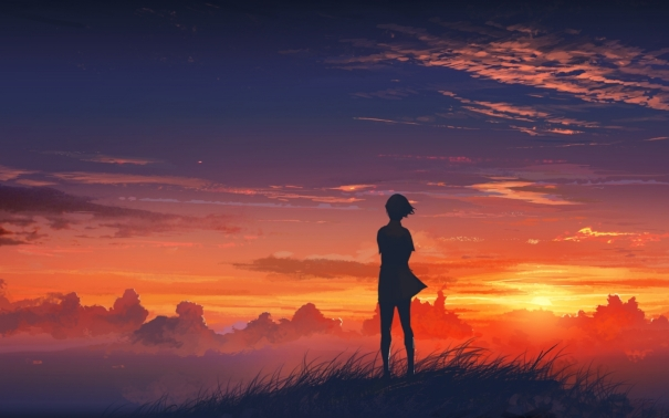 Anime-Sunset