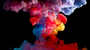 Colorful-Floating-Smoke-wallpaper