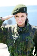 Female Finnish Soldier