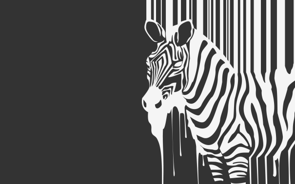 Melting-Zebra-desktop-background