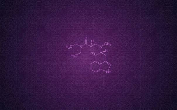 LSD-Molecule-Wallpaper