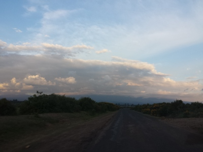 Storm over Mt. Kenya