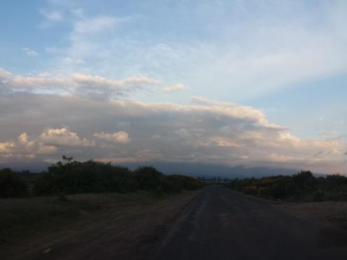 Storm over Mt. Kenya