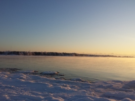 Freezing stillness