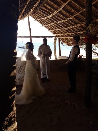 Wedding by the beach