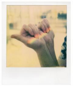 Rainbow - nails- real - life 3d