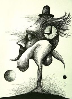 illustration-abstract-b&w-dali-?