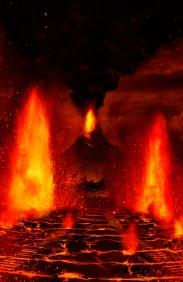 gates - hell - lava- volcano -
