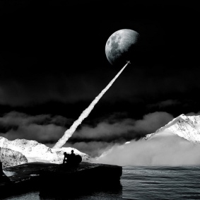 moon-black-and-white-art