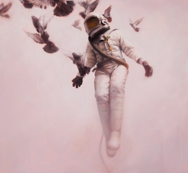 Pink-space-person