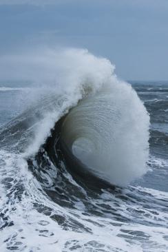 wave-flung