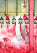 red-drape