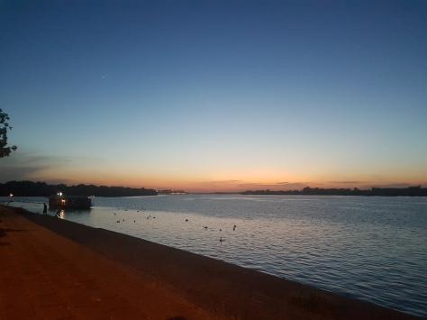 Danube Sunset. beo