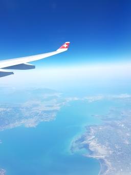 Flight by flight. Mediterranean